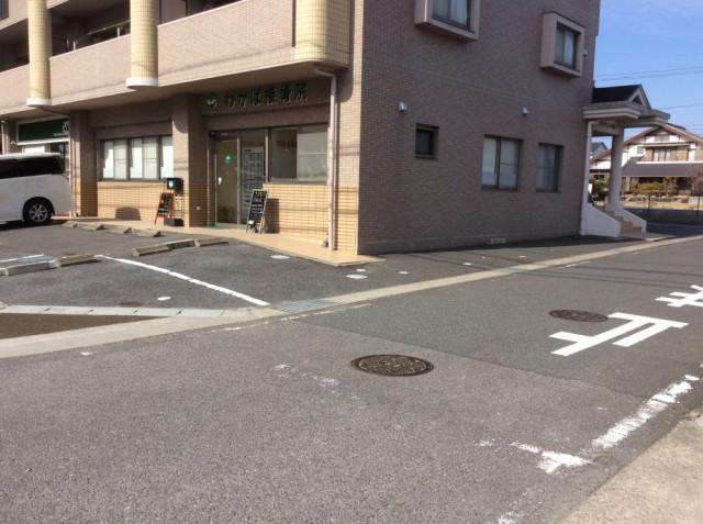 最大7台の駐車場完備
